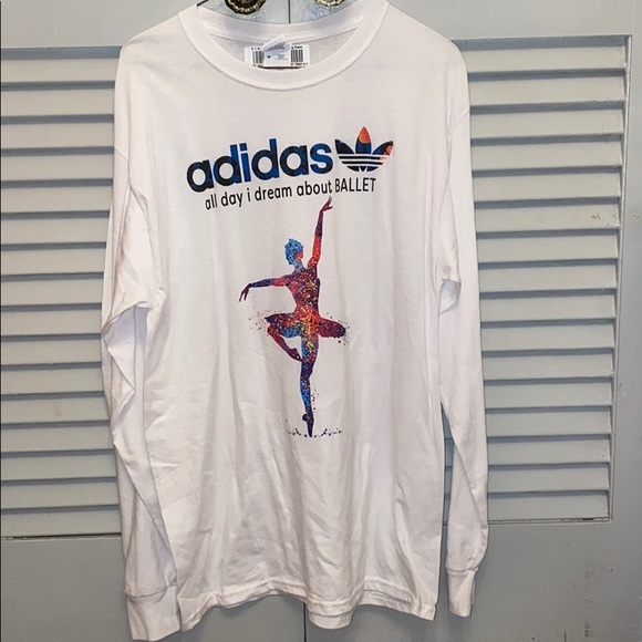dividendo Sinewi Injusto  adidas Tops | Womens All Day I Dream About Ballet Tee | Poshmark